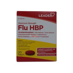 LDR FLU HBP M/S 20 TAB