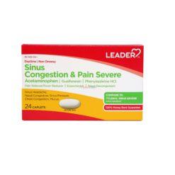LDR SINUS CONG/PAIN SEV 24 CAP
