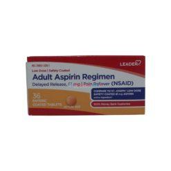 LDR ASPIRIN 81mg 36 TAB