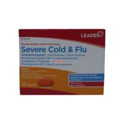 LDR SEVERE COLD&FLU 12 CAPLETS