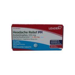 LDR HEADACHE RELIEF PM 50 tab