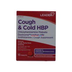 LDR COUGH & COLD HBP 16 tabs