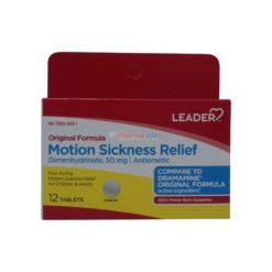 LDR MOTION SICKNESS 50mg 12tab