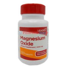 Leader Magnesium Oxide 120 Tabs