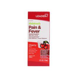 LDR PAIN&FEVER D/F CHERRY 4oz