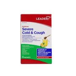LDR SEV COLD&COUGH HNY LEM 6pk