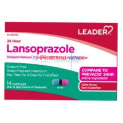 Leader Lansoprazole 15mg 14Cap