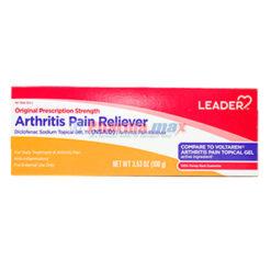 Leader Arthritis Pain Gel 1% 3.53oz