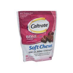 CALTRATE 600+D CHOCO 60 CHEWS