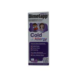 DIMETAPP COLD&ALLERGY 4oz