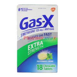 GAS-X EXTRA STRE PEPPER 18 TAB