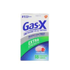 GAS-X EXTRA STRE CHERRY 18 TAB