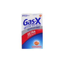 GAS-X ULTRA STRENG 18 SOFTGELS