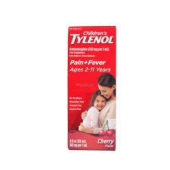 TYLENOL CHILDRENS CHERRY 4oz