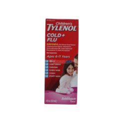 TYLENOL CHILD COLD&FLU BUB 4oz
