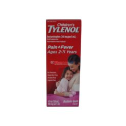 TYLENOL CHILD PAIN+FVR BUB 4oz