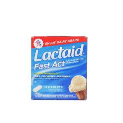 LACTAID FAST ACT 12cap