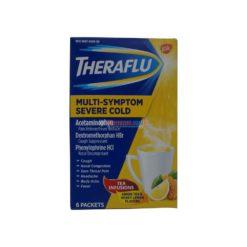 THERAFLU M/S SEVERE COLD 6pk