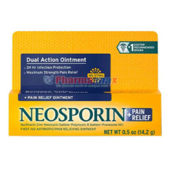 Neosporin  +Pain Relief Dual Action Ointment .5oz