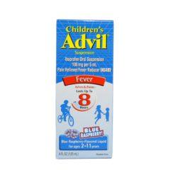 ADVIL CHILD FEVER RASPBERR 4oz
