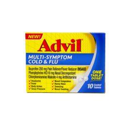ADVIL M/SYMPT COLD&FLU 10 TAB