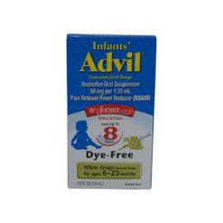 ADVIL INF D/F WHT GRAPE 1/2oz