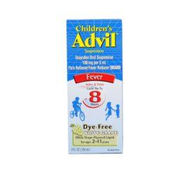 ADVIL CHILD D/F WHT GRAPE 4oz