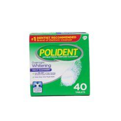 POLIDENT OVERNIGHT CLN 40 TAB