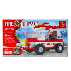 Ausini Fire Brigade Block 58pcs