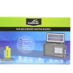 SOKKAR SOLAR 8 BAND RADIO