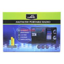 SOKKAR PORTABLE RADIO AM/FM/SW