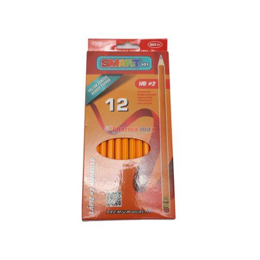 SMART YELLOW PENCILS HB#2 12pk