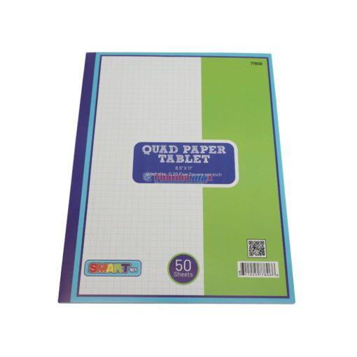 SMART QUAD PAPER TABLET 50ct