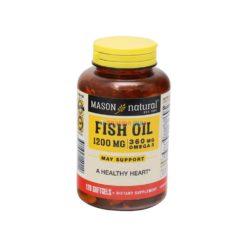 MASON FISH OIL 1200mg120 GELS