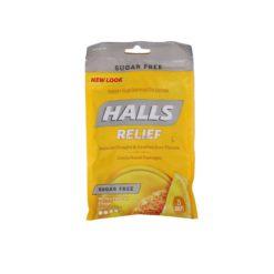 HALLS SUG/FREE HNY LEM 25 DROP