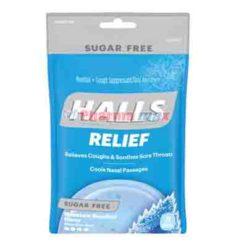 Halls Sugar Free Mint Mentol 25Drop