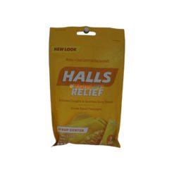HALLS PLUS HONEY LEMON 25ct