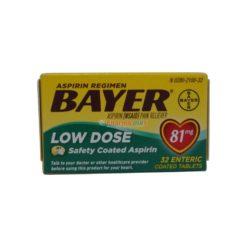 BAYER LOW-DOSE 81mg 32 TAB