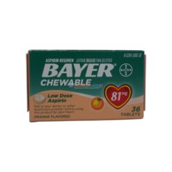 BAYER CHEWABLE ORAN 81mg 36TAB