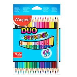 MAPED COLORPEPS DUO COLOR 18pc