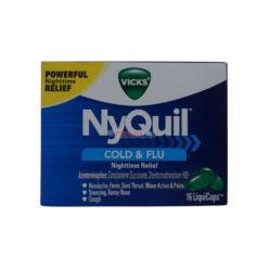 VICKS NYQUIL COLD&FLU 16 LIQ