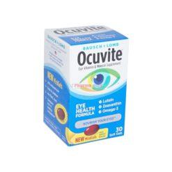 B&L OCUVITE EYE HEALTH 30 GEL