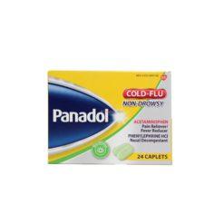 PANADOL COLD&FLU 24 CAPLETS