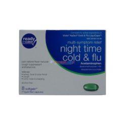 RC NIGHT TIME COLD&FLU 8 SOFTG
