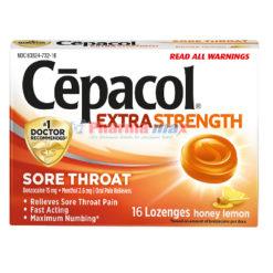 Cepacol Honey Lemon 16ct