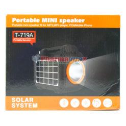 Portable Mini Speaker Solar