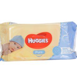 HUGGIES PURE 56 WIPES