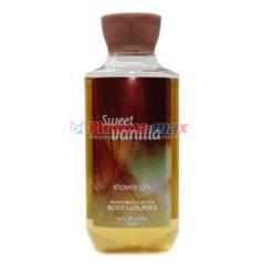 Body Luxuries Sweet Vanilla Shower Gel 10oz