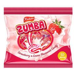 Zumba Candy Strawberry Creme 50ct