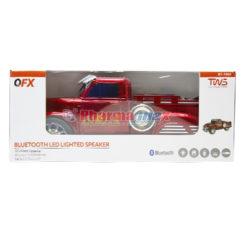 QFX Speaker Truck Red